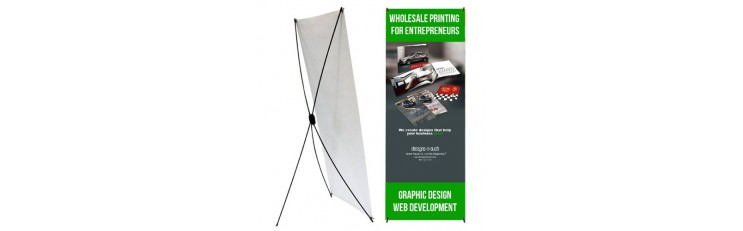 Tri-Stand Banner Stand